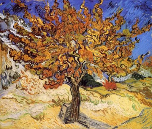Vincent Van Gogh-Mulberry Tree 1889