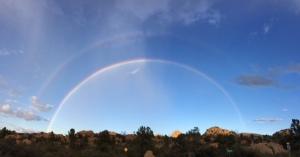 Rainbow over the Dells